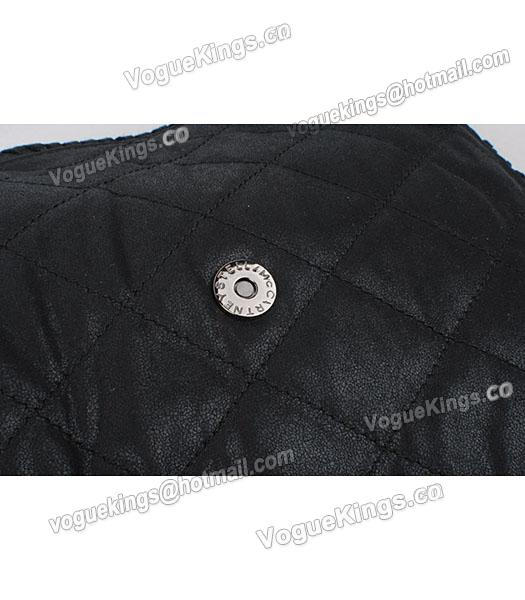 Stella McCartney Falabella 808 PVC Black Small Quilted Shoulder Bag-7