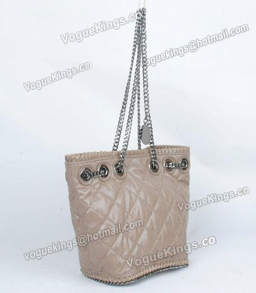 Stella McCartney Falabella 815 PVC Khaki Small Bucket Bag-1