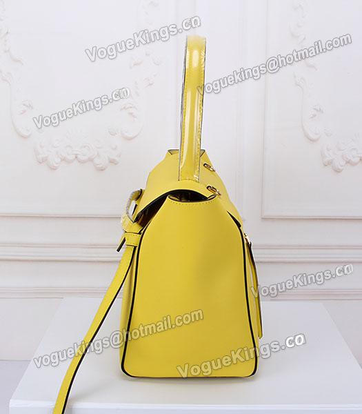 Celine Belt Yellow Leather High-quality Tote Bag_2