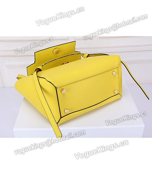 Celine Belt Yellow Leather High-quality Tote Bag-4