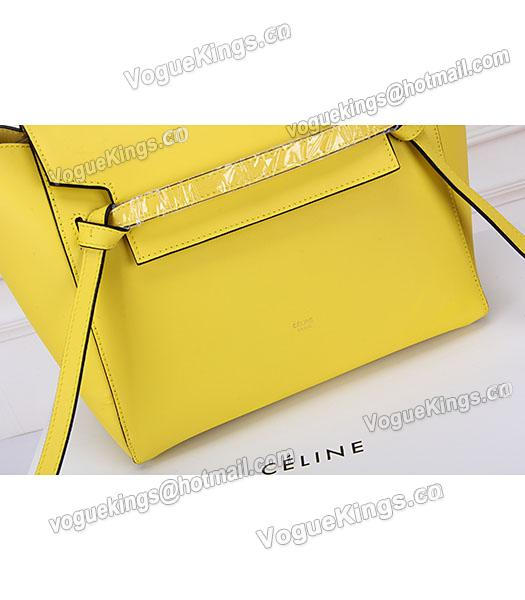 Celine Belt Yellow Leather High-quality Tote Bag-6