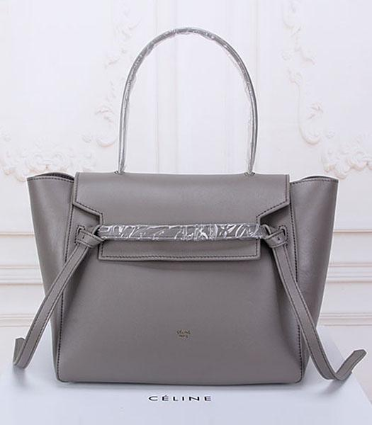 Celine Belt Grey Leather High-quality Tote Bag