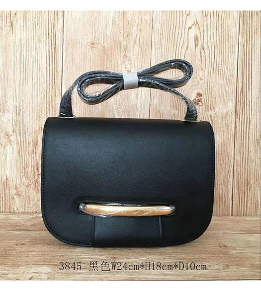 Mulberry Latest Style Black Leather Crossbody Bag