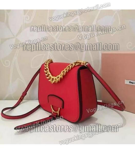 Miu Miu Red Original Leather 19cm Small Bag-1