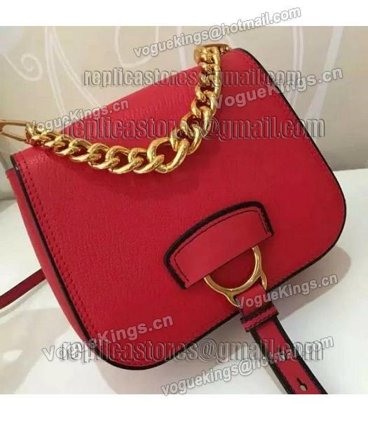 Miu Miu Red Original Leather 19cm Small Bag-4