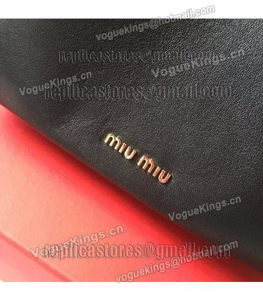 Miu Miu Black Original Leather Small Shoulder Bag-4