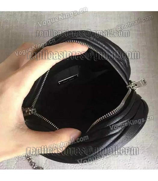 Miu Miu Matelasse Black Original Leather Small Chains Bag-6