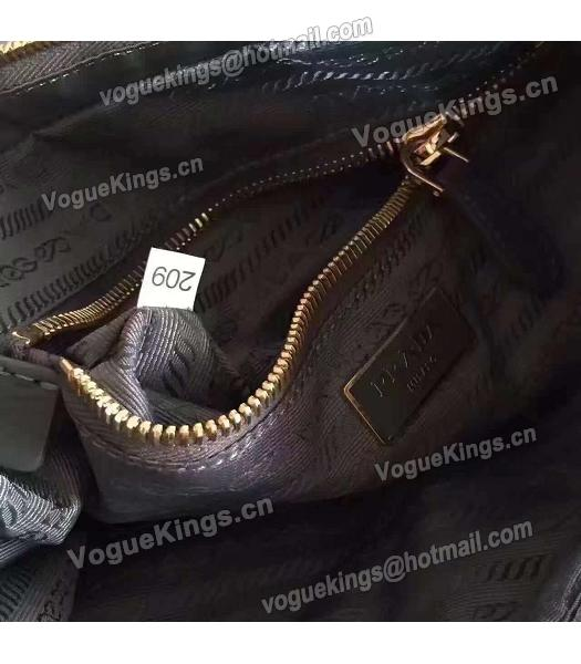 Prada BN1843 Tessuto Nylon Shoulder Bag Grey-1
