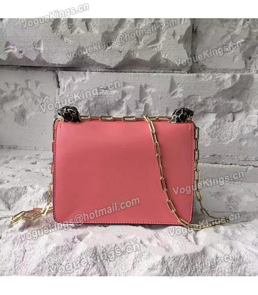 Valentino Watermelon Red Original Leather Chains Messenger Bag-1