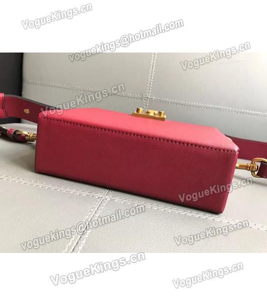 Christian Dior Red Original Leather Mini Crossbody Bag-1