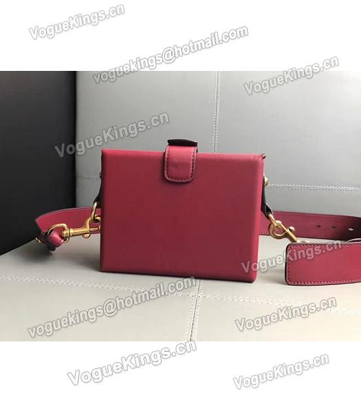 Christian Dior Red Original Leather Mini Crossbody Bag-2