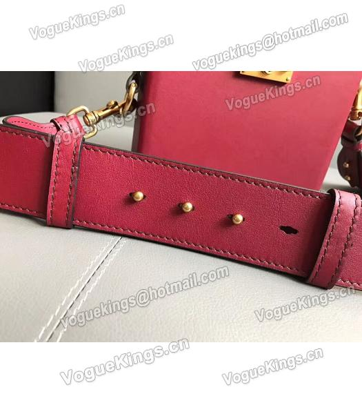 Christian Dior Red Original Leather Mini Crossbody Bag-6