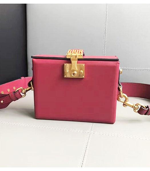 Christian Dior Red Original Leather Mini Crossbody Bag