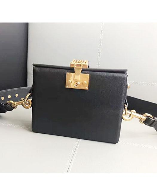 Christian Dior Black Original Leather Mini Crossbody Bag