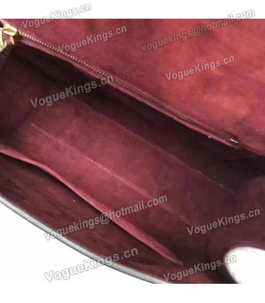 Christian Dior Jujube Red Original Leather Top Handal Bag-6