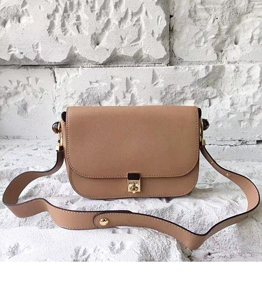 Valentino Khaki Original Leather Small Shoulder Bag