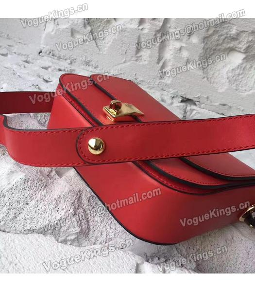 Valentino Red Original Leather Small Shoulder Bag-3