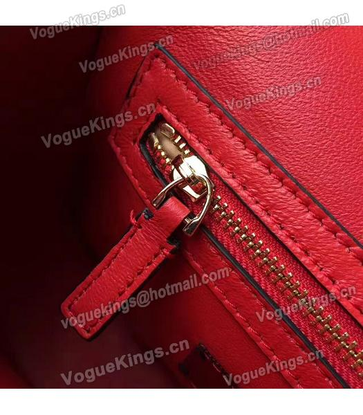 Valentino Red Original Leather Small Shoulder Bag-5
