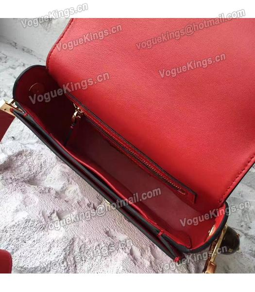 Valentino Red Original Leather Small Shoulder Bag-6