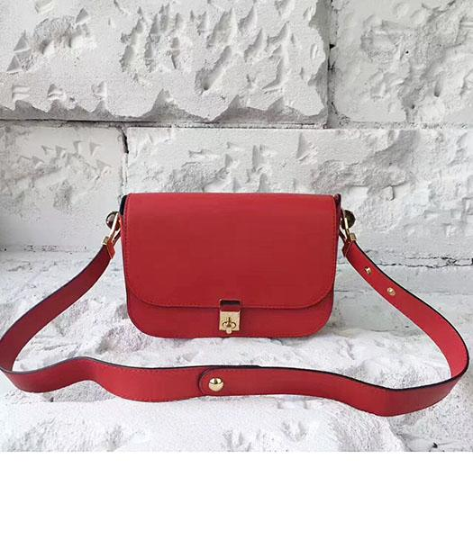 Valentino Red Original Leather Small Shoulder Bag