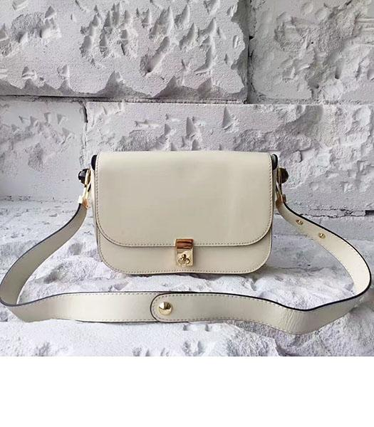 Valentino Offwhite Original Leather Small Shoulder Bag
