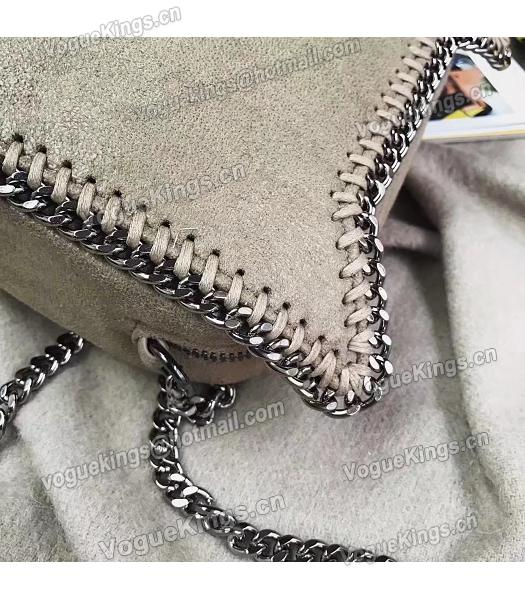 Stella McCartney Falabella Cat Crossbody Bag Khaki-5