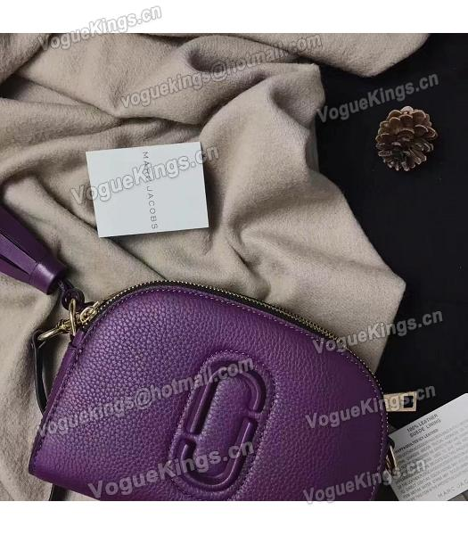 Marc Jacobs Shutter Purple Leather Tassel Small Camera Bag-1