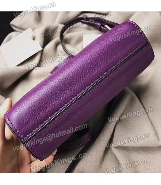 Marc Jacobs Shutter Purple Leather Tassel Small Camera Bag-3