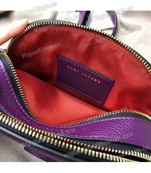 Marc Jacobs Shutter Purple Leather Tassel Small Camera Bag-5