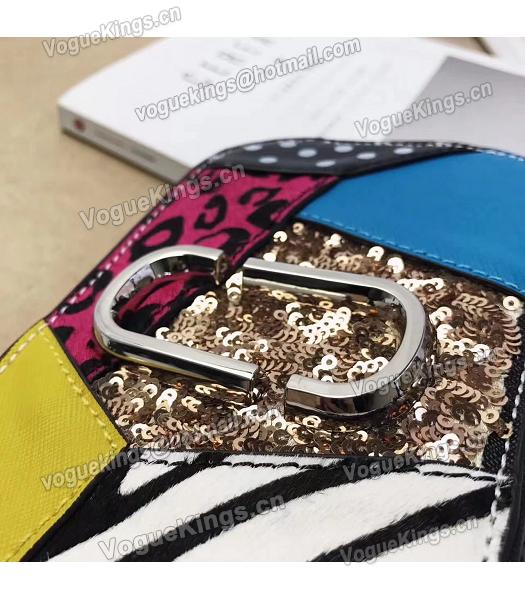 Marc Jacobs Punk Patchwork Sequins Limited Edition Bag Black-3