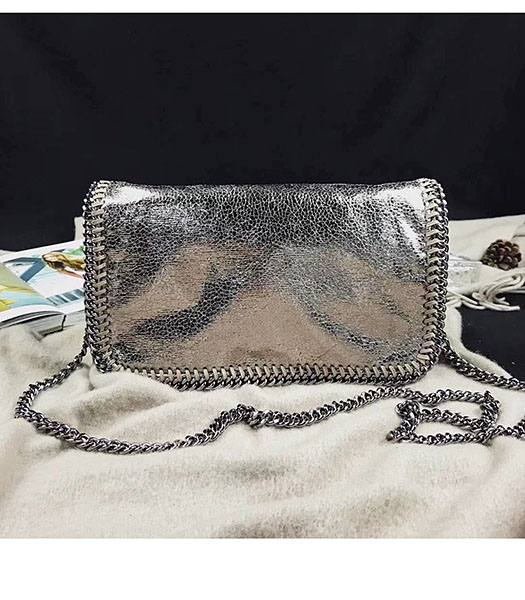 Stella McCartney Falabella Golden Oil Wax Cross Body Bag