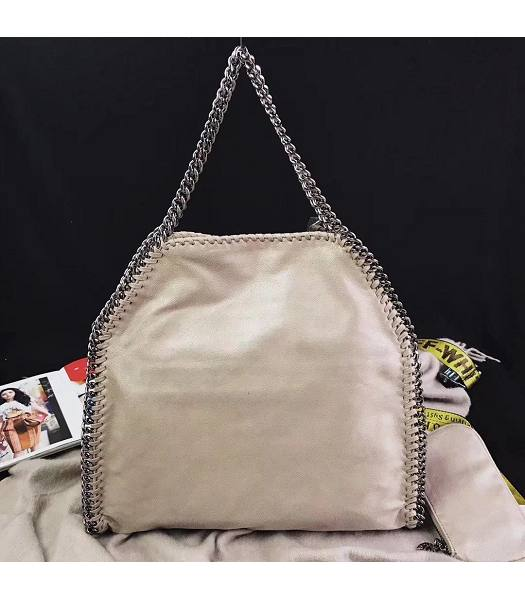 Stella McCartney Falabella Apricot Environmental Polyester Fiber 36cm Tote Bag-1