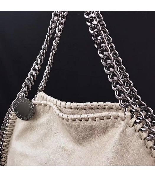 Stella McCartney Falabella Apricot Environmental Polyester Fiber 36cm Tote Bag-2