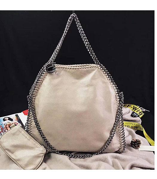 Stella McCartney Falabella Apricot Environmental Polyester Fiber 36cm Tote Bag