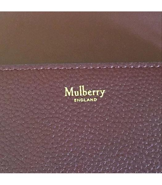 Mulberry Small Darley Jujube Litchi Veins Leather Satchel Bag-6