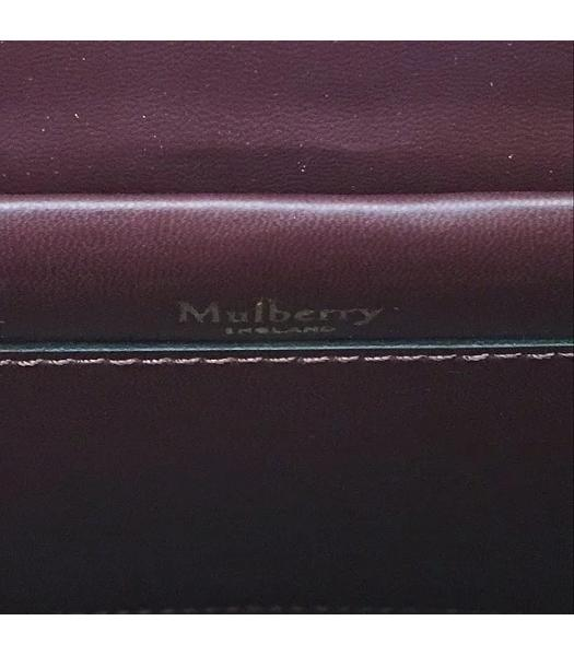 Mulberry Small Maple Jujube Litchi Veins Leather 23cm Tote Bag-2